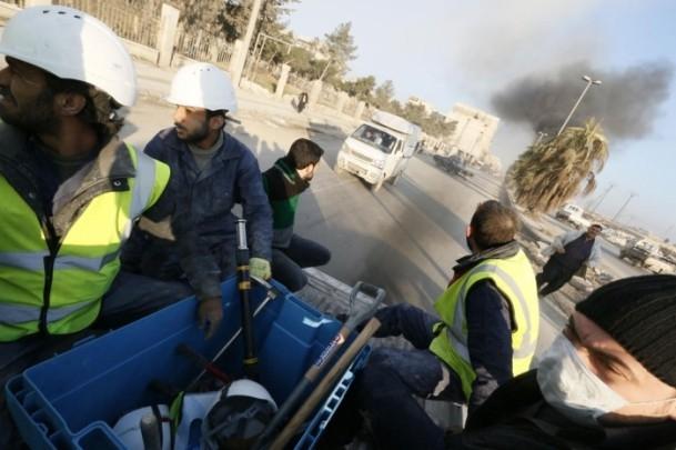 """Suriye'de """"varil bombalı"""" saldırı 10"""