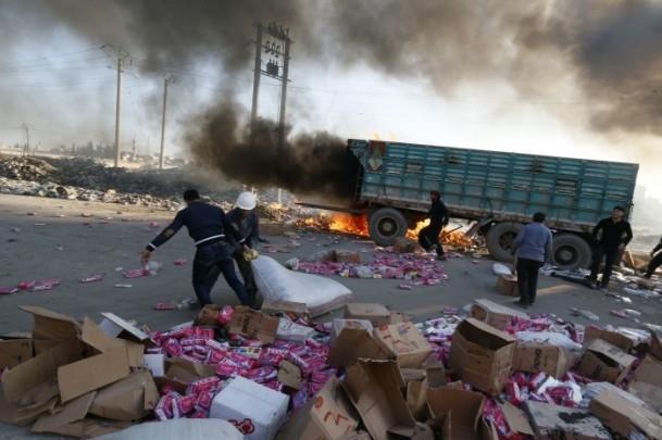 """Suriye'de """"varil bombalı"""" saldırı 12"""