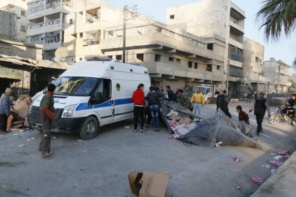 """Suriye'de """"varil bombalı"""" saldırı 14"""