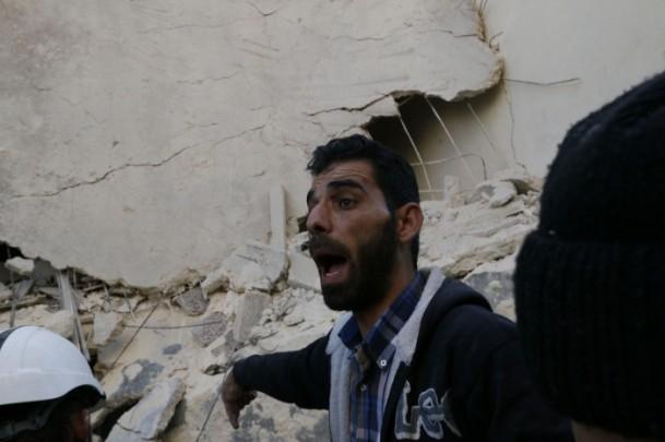 """Suriye'de """"varil bombalı"""" saldırı 16"""