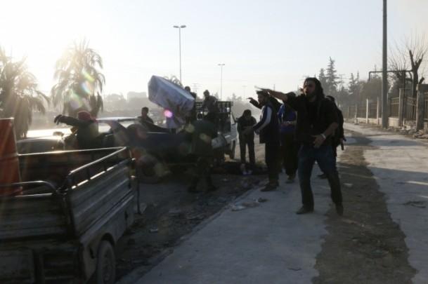 """Suriye'de """"varil bombalı"""" saldırı 2"""