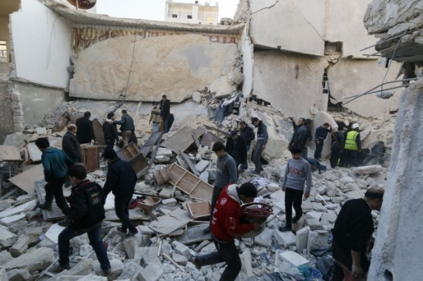"""Suriye'de """"varil bombalı"""" saldırı 3"""