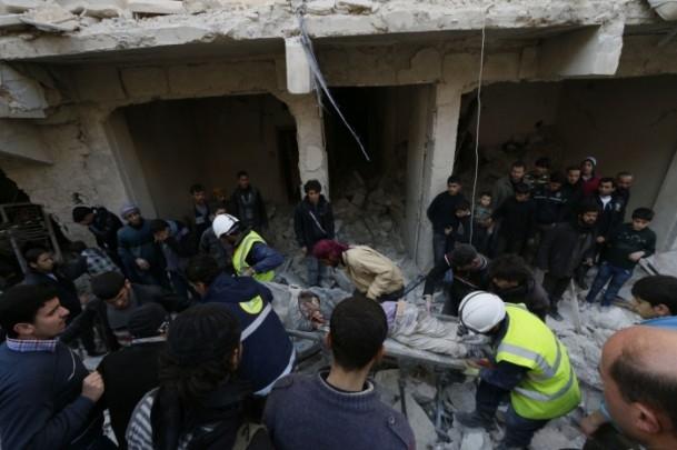 """Suriye'de """"varil bombalı"""" saldırı 4"""