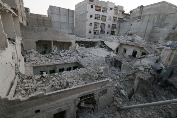 """Suriye'de """"varil bombalı"""" saldırı 5"""