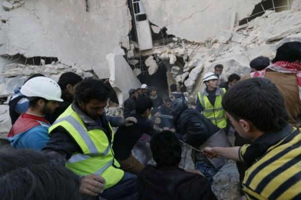 """Suriye'de """"varil bombalı"""" saldırı 6"""
