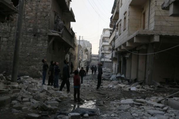 """Suriye'de """"varil bombalı"""" saldırı 8"""