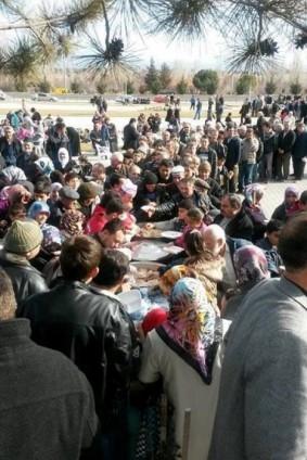 Kütahya'da 5 bin kişi yağmur ve kar duasına çıktı 10