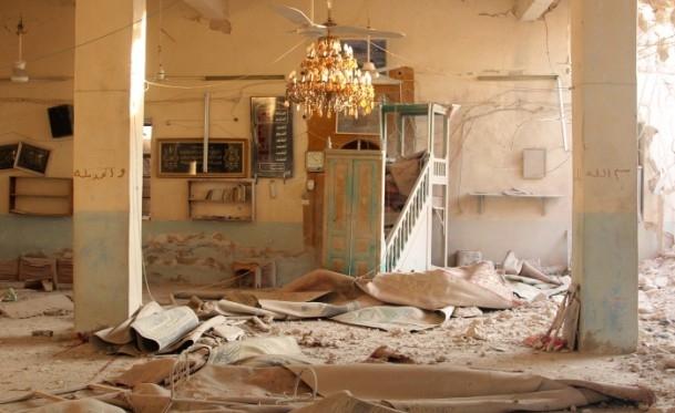 Halep'te varil bombalı saldırılar 1