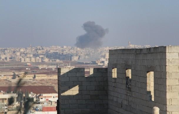 Halep'te varil bombalı saldırılar 12