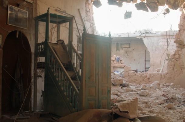Halep'te varil bombalı saldırılar 16