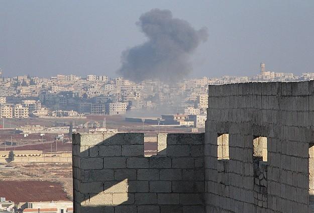 Halep'te varil bombalı saldırılar 21