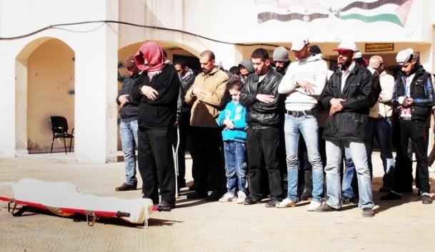 Yermuk Mülteci Kampı'nda yardım dağıtımı 4