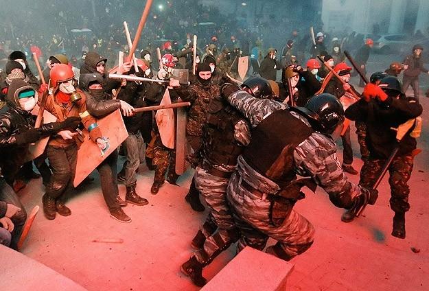 Ukrayna'da Çatışmalar 1