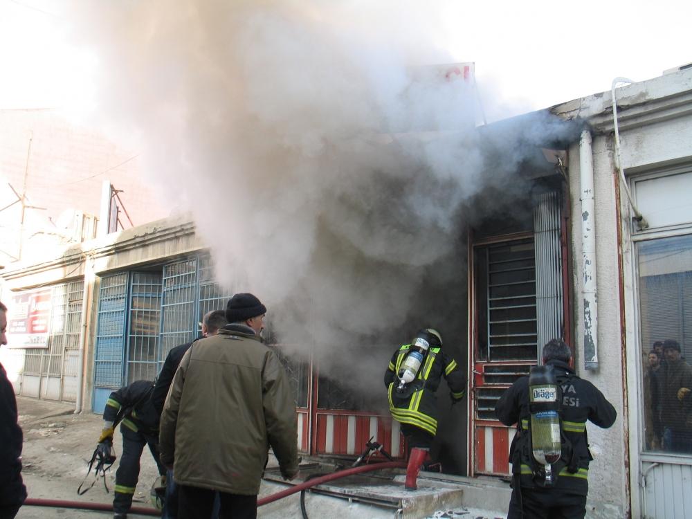 Konya'da yangın 1