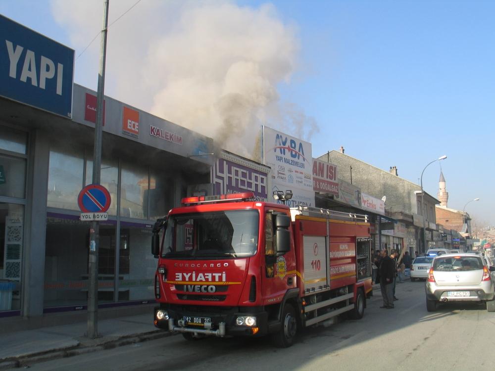 Konya'da yangın 4