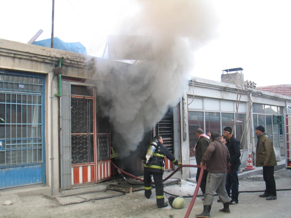 Konya'da yangın 5