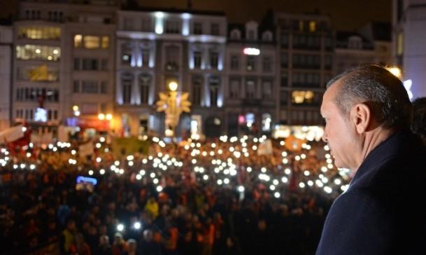 Burası Konya değil, Avrupa'nın Başkenti Brüksel... 1