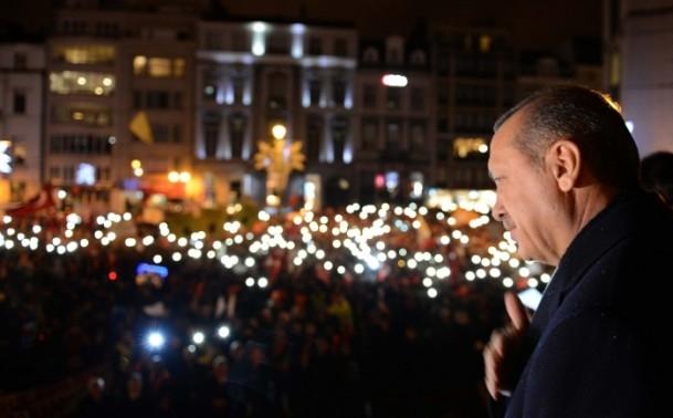 Burası Konya değil, Avrupa'nın Başkenti Brüksel... 14