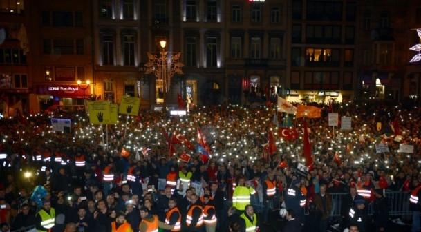Burası Konya değil, Avrupa'nın Başkenti Brüksel... 16