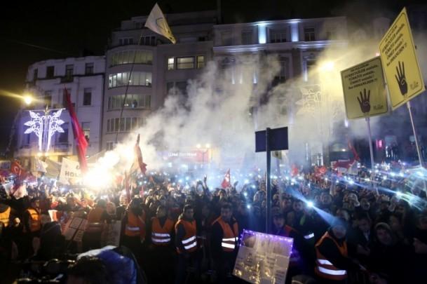 Burası Konya değil, Avrupa'nın Başkenti Brüksel... 18