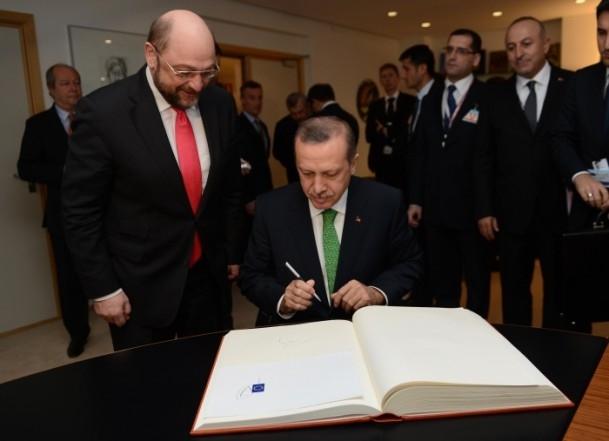Başbakan Erdoğan - AP Başkanı Schulz görüşmesi 10
