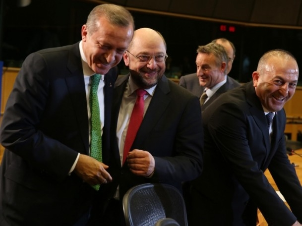 Başbakan Erdoğan - AP Başkanı Schulz görüşmesi 11