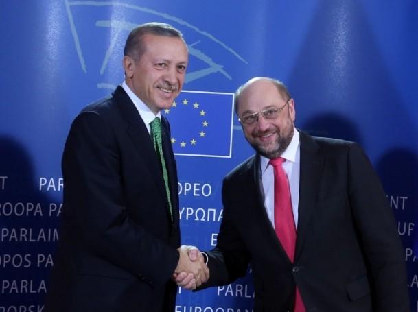 Başbakan Erdoğan - AP Başkanı Schulz görüşmesi 13