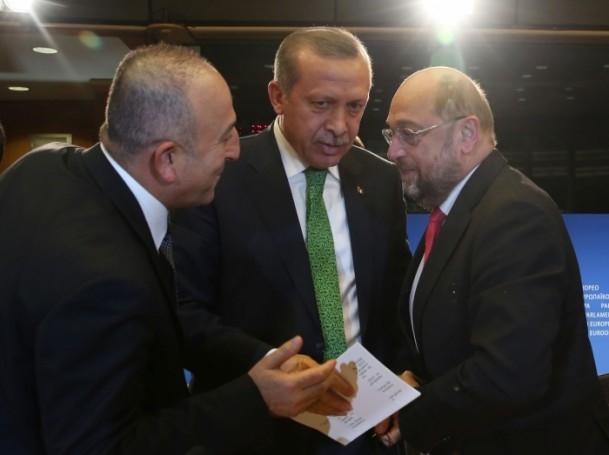 Başbakan Erdoğan - AP Başkanı Schulz görüşmesi 3