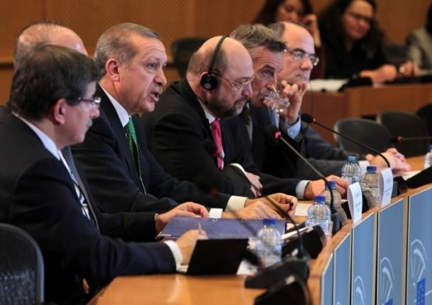 Başbakan Erdoğan - AP Başkanı Schulz görüşmesi 4