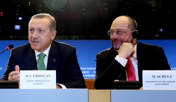 Başbakan Erdoğan - AP Başkanı Schulz görüşmesi 6