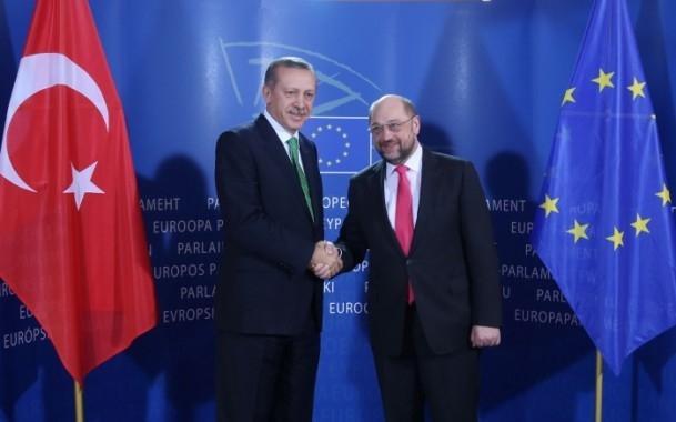 Başbakan Erdoğan - AP Başkanı Schulz görüşmesi 7