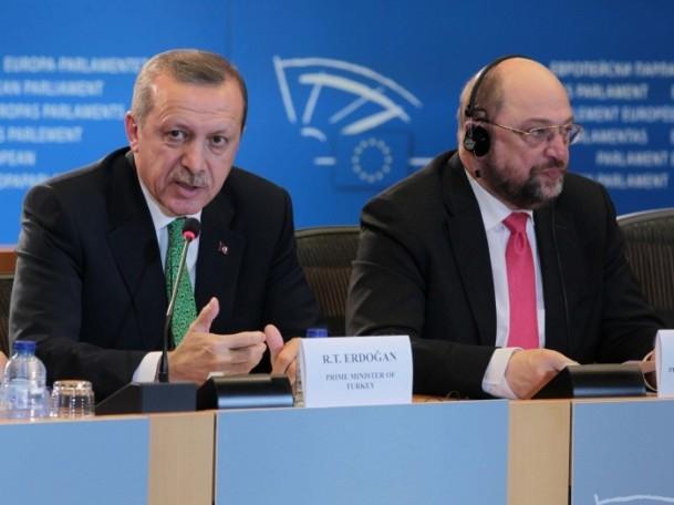 Başbakan Erdoğan - AP Başkanı Schulz görüşmesi 8