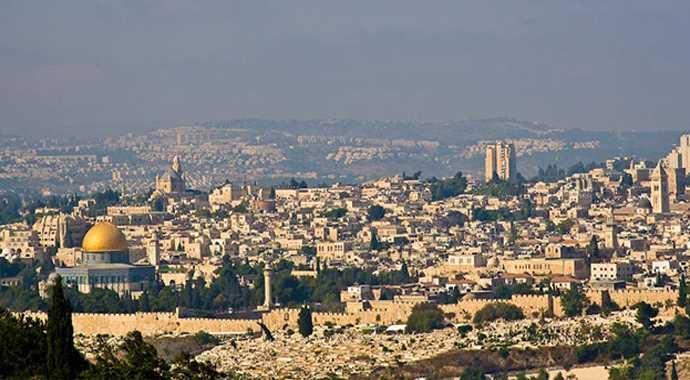 Kudüs'e kar düştü... 10