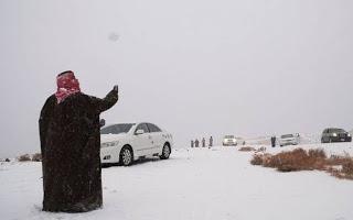 Kudüs'e kar düştü... 5
