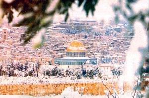 Kudüs'e kar düştü... 7