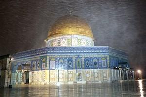 Kudüs'e kar düştü... 8