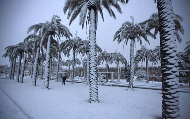 Kudüs'e kar düştü... 9