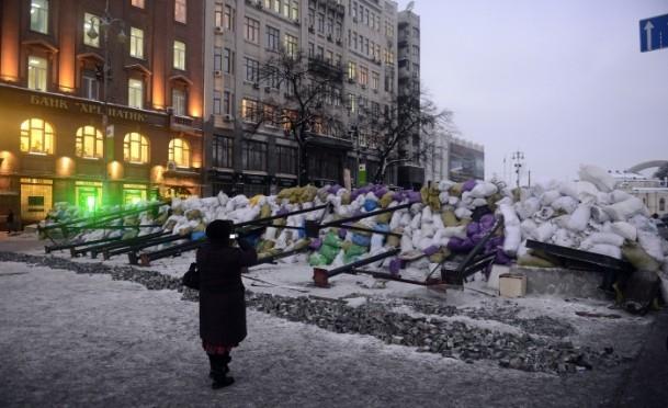 Ukrayna'da göstericiler Bölge Valiliklerine yürüyor 11