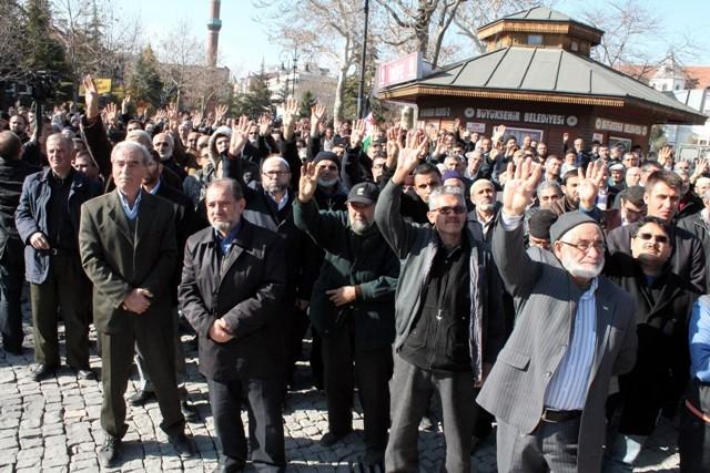 Konya'da STK'lar Suriye'deki katliamı protesto etti 3