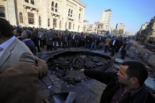 Mısır'da bombalı saldırı 3