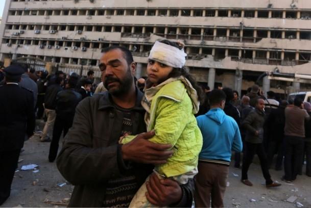 Mısır'da bombalı saldırı 5