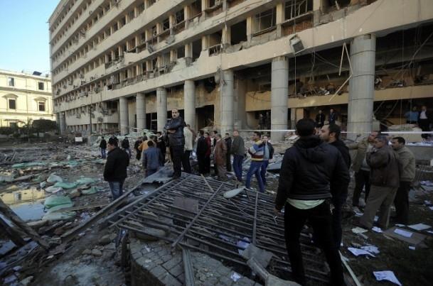 Mısır'da bombalı saldırı 7