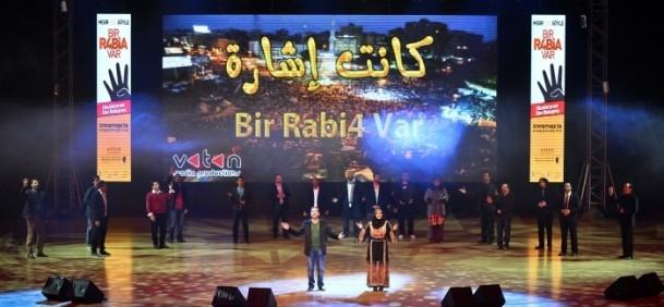 """İstanbul'da büyük """"R4bia"""" buluşması 4"""