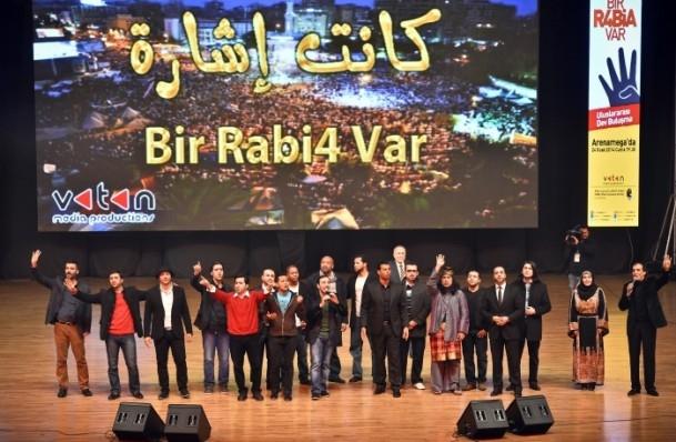 """İstanbul'da büyük """"R4bia"""" buluşması 6"""