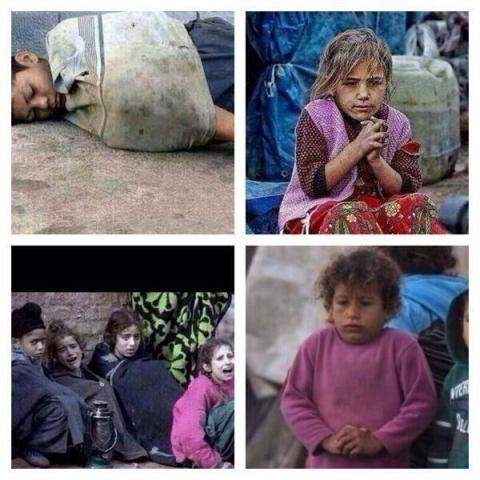 Suriyeli çocuklar donuyor... 12