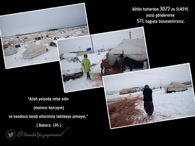 Suriyeli çocuklar donuyor... 13