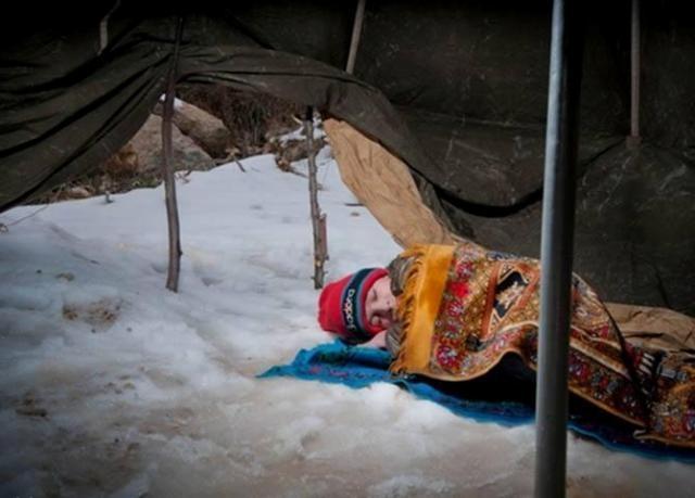 Suriyeli çocuklar donuyor... 15