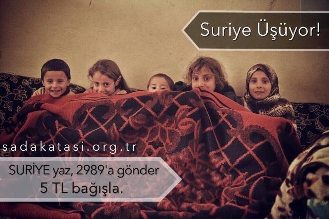 Suriyeli çocuklar donuyor... 23