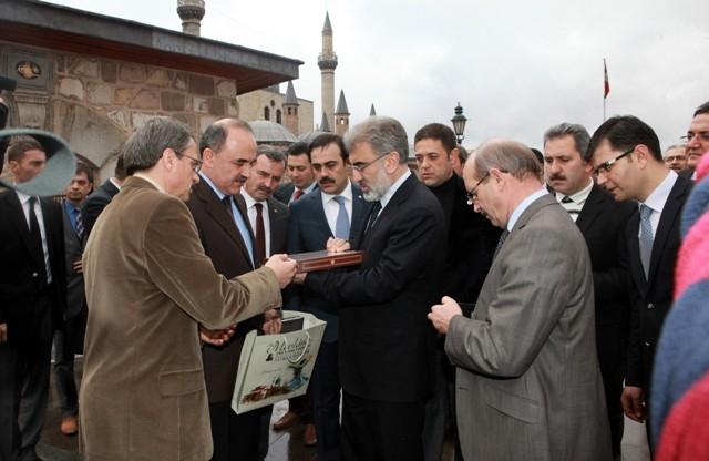 Bakan Taner Yıldız Konya'da 9
