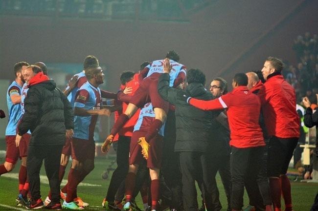 Trabzonspor 1 - Beşiktaş 1 7